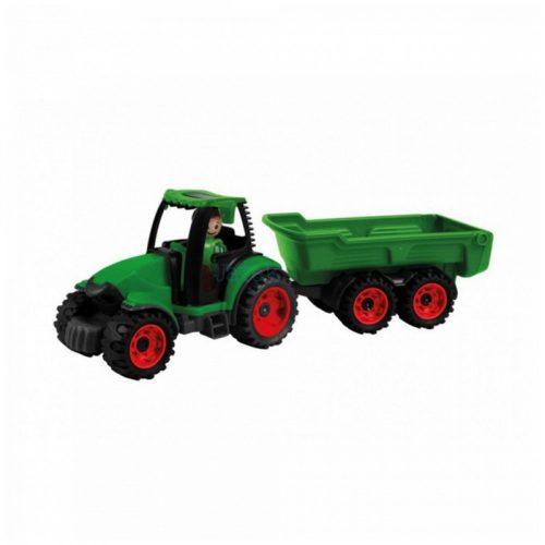 Lena Truckies traktor utánfutóval, 38cm