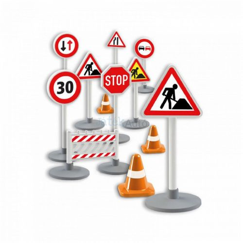 Lena közlekedési jelzőtáblák