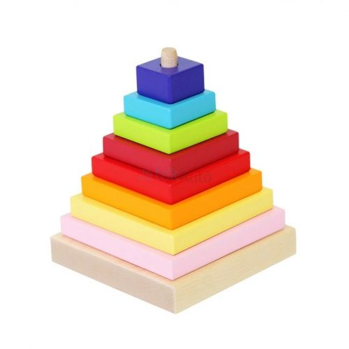 Piramis fajáték