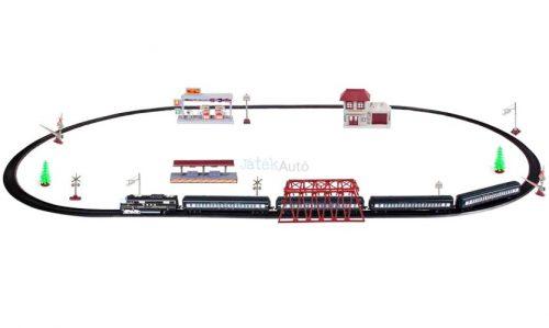 Train Orbit nagy játékvonat készlet gőzmozdonnyal
