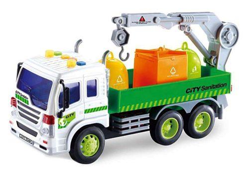WenYi Szelektív hulladék szállító kukásautó fénnyel és hanggal