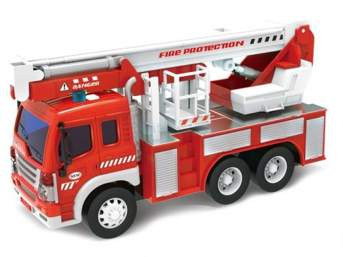 WenYi Tűzoltóautó fénnyel és hanggal