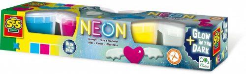 SES Creative - Neon gyurma készlet 00461