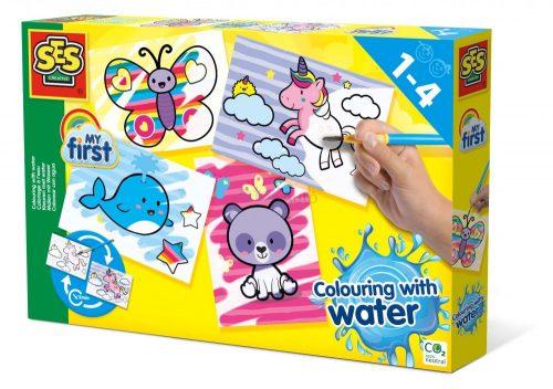 SES Creative - Első vizes állatos színezőm 14454
