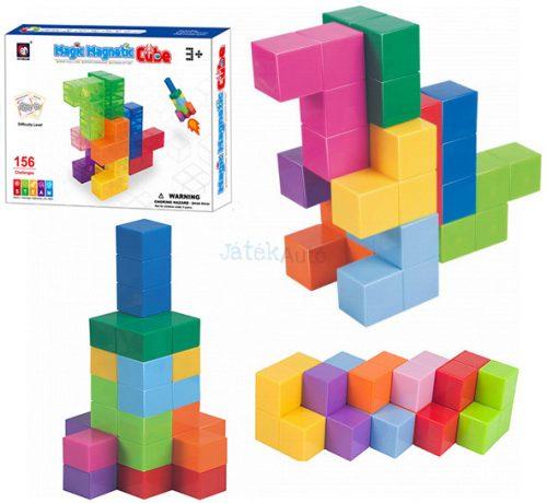 Magic Magnetic Cube mágneses logikai játék