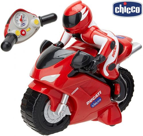 Chicco távirányítós Ducati 1198 versenymotor, 22 cm - 56911