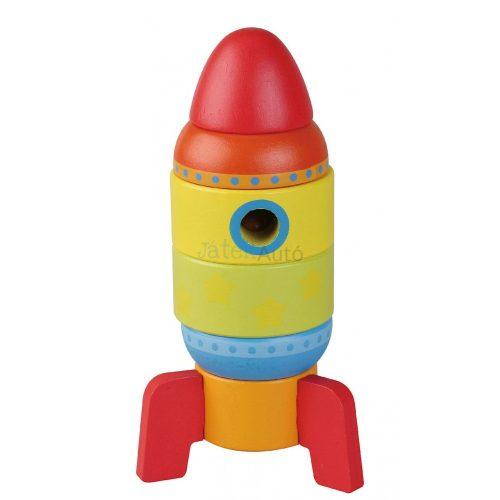 Sun Baby rakéta toronyépítő fajáték