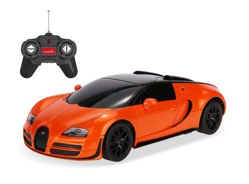 Rastar RC Bugatti Veyron 16.4 Grand Sport Vitesse 1:24 távirányítós autó 47000