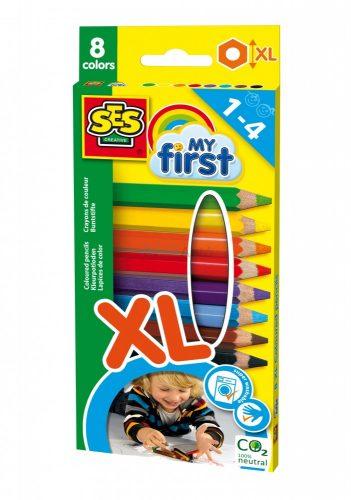 SES Creative - Első színes ceruzáim 8 darabos készlet 14416