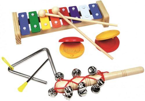Bino hangszerkészlet fajáték