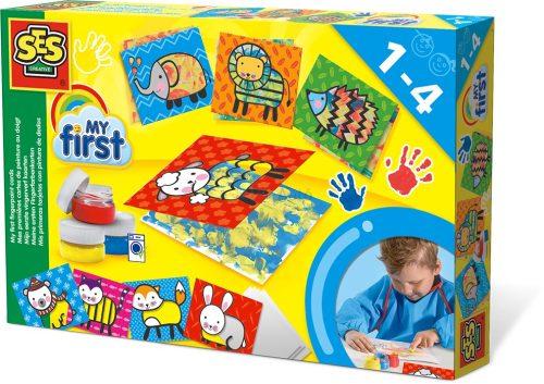 SES Creative - Első ujjfesték készletem 14415