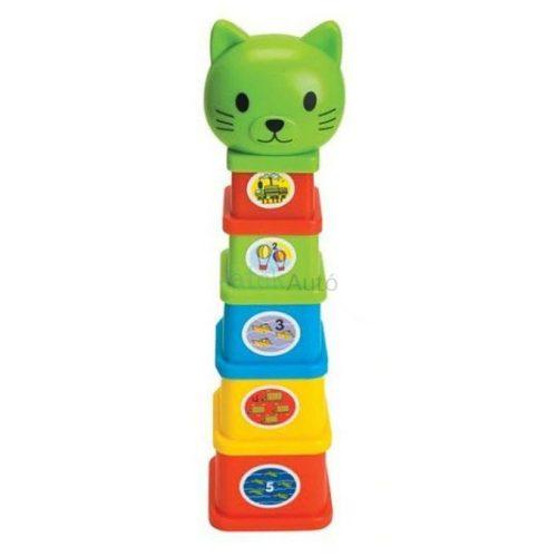 Fun Time Kitten toronyépítő