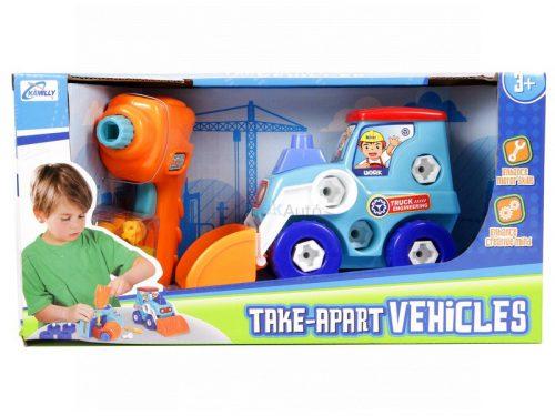 Szerelhető markolós traktor 18 cm