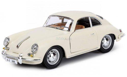 Bburago 1:24 Porsche 356B Coupe sportautó 18-22079