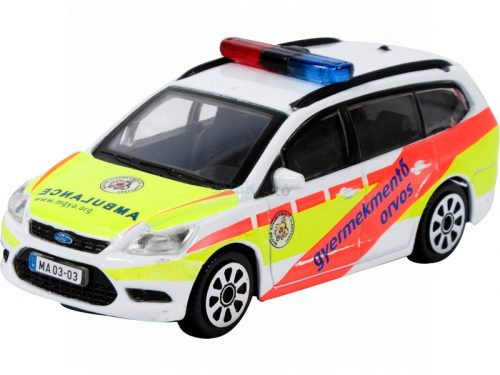 Bburago 1:43 Ford Focus gyermekmentő orvosi autó 11852