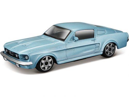 Bburago 1:43 Ford Mustang GTA Fastback (1967) sportautó 18-30215