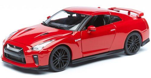Bburago 1:24 Nissan GT-R (2017) sportautó 18-21082