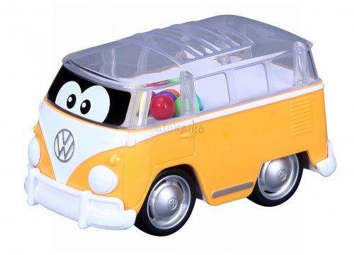 Bburago Junior Puppin' Bus kisautó 16-85109 - Sárga