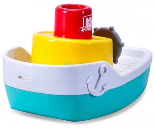 Bburago Junior Splash N' Play kishajó spriccelő kéménnyel, fürdőjáték 16-89003