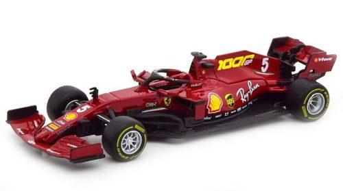 Bburago 1:43 Ferrari F1 SF1000 Team Scuderia Ferrari N5 10th Toscana GP Mugello 1000th GP (2020, S. Vettel) versenyautó 18-36823
