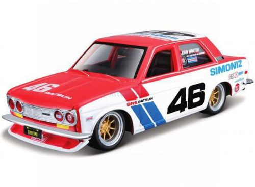 Bburago 1:43 Datsun 510 Brock Racing N 46 Tokyo Torque (1971) versenyautó 18-38047