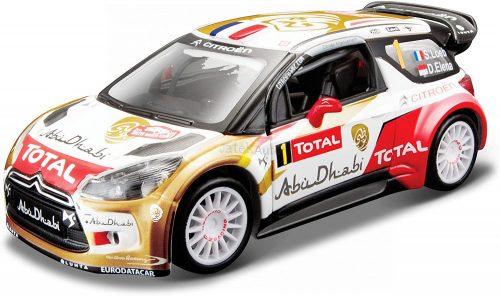 Bburago 1:32 Rally Citroen DS3 WRC versenyautó 18-40000 (Sebastien Loeb)