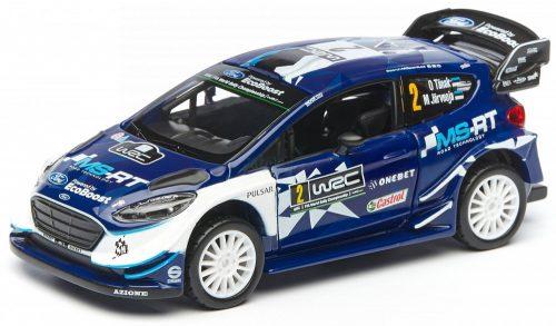 Bburago 1:32 Rally Ford Fiesta WRC versenyautó 18-40000 (Ott Tanak)