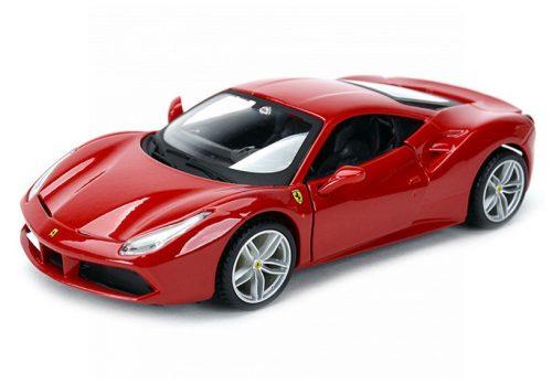 Bburago 1:32 Ferrari 488 GTB sportautó 18-46000