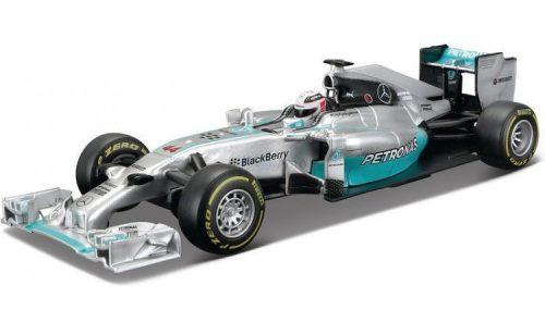 Bburago 1:32 Mercedes AMG Petronas F1 WOS Hybrid versenyautó 18-41226