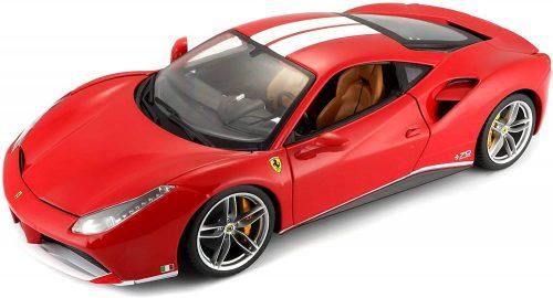 "Bburago 1:18 Ferrari 70TH Anniversary Collection 488GTB ""The Schumacher"" sportautó 18-76102"