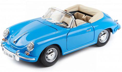 Bburago 1:18 Porsche 356B Cabrio 1961 sportautó 18-12025