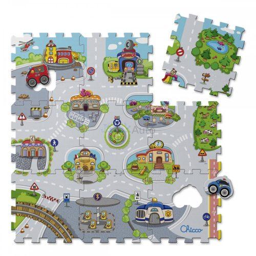 Chicco City puzzle játszószőnyeg