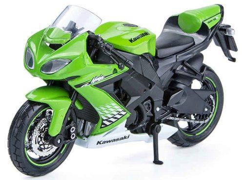 Maisto 1:18 Kawasaki Ninja ZX-10R motor (2004) 10004