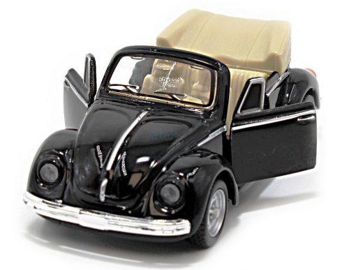 Maisto 1:32 Fresh Metal Volkswagen Bogárhátú cabrio - Hátrahúzós kivitel