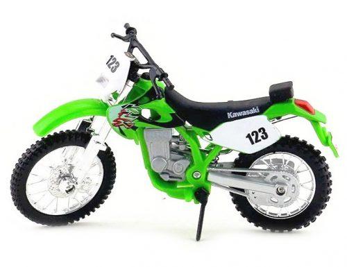 Maisto 1:18 Kawasaki KLX 250SR N123 (1990) motor 302G