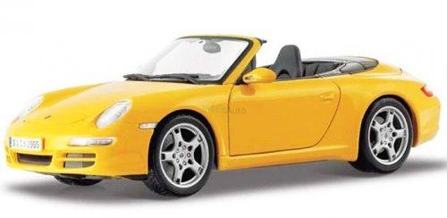 Maisto 1:18 Porsche 911 997 Carrera (2005) Cabriolet sportautó 31126