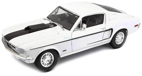 Maisto 1:18 Ford Mustang GT Coupe Cobra Jet (1968) sportautó 31167