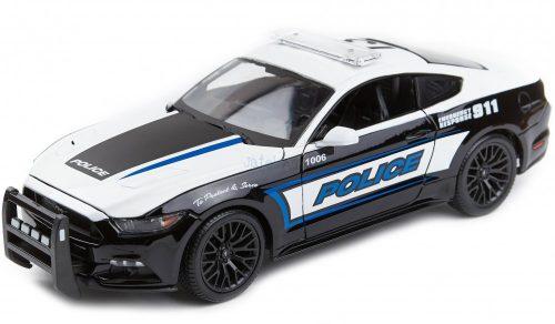 Maisto 1:18 Ford Mustang GT 2015 rendőrautó 31397