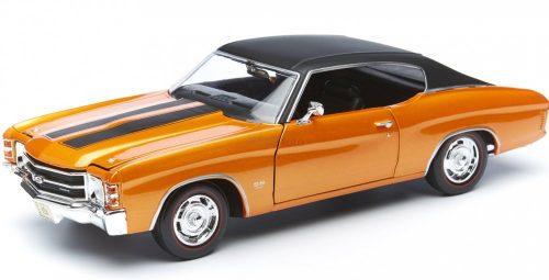 Maisto 1:18 Chevrolet Chevelle SS 454 Coupe (1971) sportautó 31890