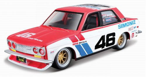 Maisto 1:24 Datsun 510 Brock Racing N 46 Tokyo Torque (1971) versenyautó 32532