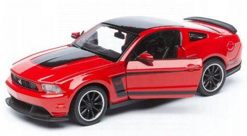 Maisto 1:24 Ford Mustang Boss 302 Coupe (2012) sportautó - Szereld magad! - 39269