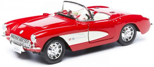 Maisto 1:24 Chevrolet Corvette Spider (1957) sportautó - Szereld magad! - 39275