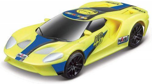 Maisto Tech VR46 Ford GT versenyautó - pályaautó