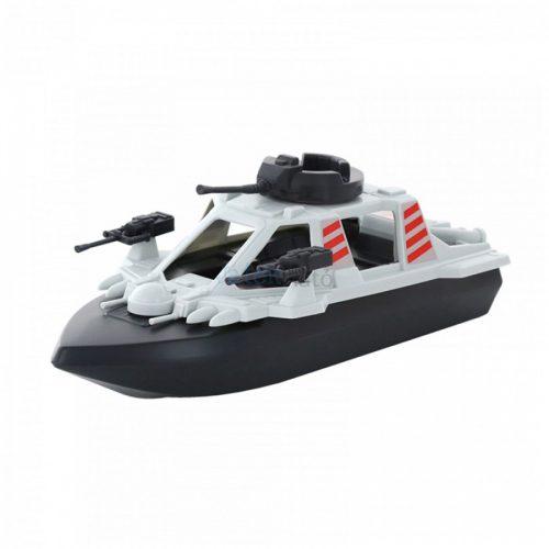 Katonai játékhajó 40 cm