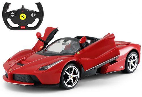Rastar RC 1:14 Ferrari LaFerrari Aperta Drift távirányítós autó felfelé nyíló ajtókkal 75800