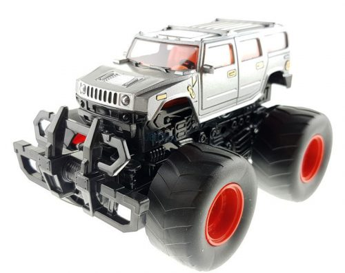 Felugró lendkerekes terepjáró - szürke Hummer