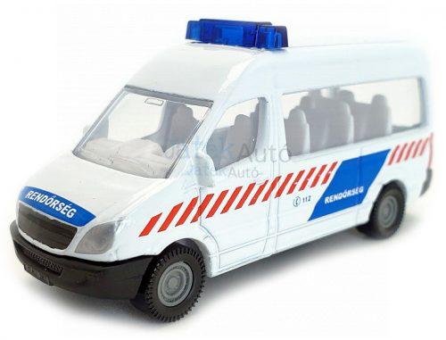 Siku 1:87 Mercedes magyar rendőrségi furgon - 0806
