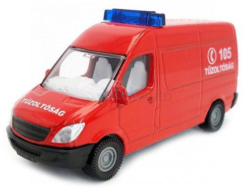 Siku 1:87 Mercedes magyar tűzoltósági furgon - 0808