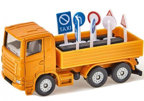 Siku teherautó közlekedési táblákkal - 1322