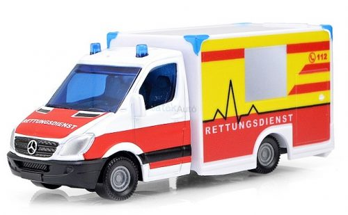 Siku 1:55 Mercedes mentőautó - 1536